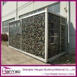 Qualität kundenspezifisches Stahlrahmen-modulares Behälter-Haus