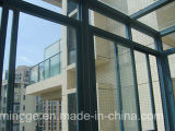 Nieuwe Stijl en het Populaire Glas die van het Aluminium Vensters vouwen