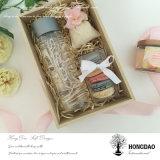 Rectángulo de regalo de madera inacabado de Hongdao Wholesale_D
