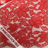 Maple Leaf Rendas de nylon em forma de vestido de malha