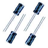 размер Tmce13 электролитического конденсатора 25V 3.3mf алюминиевый миниатюрный