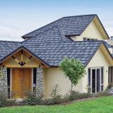Los materiales de construcción asfalto plaqueta azulejo Teja de acero recubierto de piedra