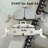 La Chine Fabricant prix d'usine la plaquette de frein 8W0698151M D1897 pour Audi A4