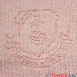 ピンクによって捺印されるMicrofiberの台所クリーニングタオル