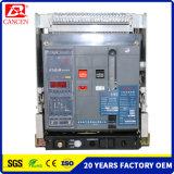 Geschatte Huidige 2500A, schatte Voltage 690V, Stroomonderbreker de Van uitstekende kwaliteit van de Lucht, de Multifunctionele Acb Vaste Directe Fabriek van het Type 3p