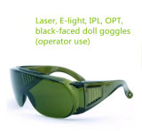 Gläser der Schönheits-Geräten-Zubehör-IPL entscheiden Haar-Abbau-Instrument-schützende Glas-Laserschutzbrille-Schutzbrillen