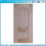 Natural Sapelli Veneer Mould Laminated MDF HDF Door Skin