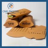 Пластичная прозрачная коробка упаковки подушки конфеты PVC (CMG-PVC-013)