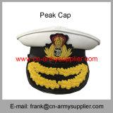 卸し売り安い中国の軍隊の金属の警察の軍のピーク帽子