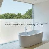 Vidro geado/vidro para o chuveiro/decorativo Sandblasted com certificado de ISO/SGS