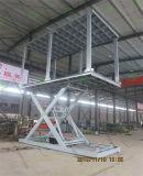 Aparcamiento coche tijera hidráulica mesa elevadora con alta calidad