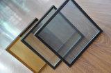 Vidrio aislador laminado Tempered de la pared de cortina de seguridad (JINBO)