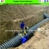 機械を作る鋼鉄PEのHDPEの排水の螺線形の管の下水管