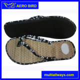 New Arrival Straw Mat Popular Travel Slipper for Women