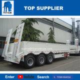 Titaan 40 Ton 60 Ton Semi Aanhangwagen van het Bed van de Vervoerder van de Machine van 80 Ton de Zware Lage