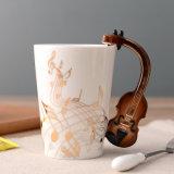 Творческие кружки формы рекламных подарков кружке керамические кружки подарки фарфоровые кружки музыкальные кружки