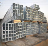 Tubo d'acciaio d'acciaio galvanizzato del quadrato Pipe/Gi del TUFFO caldo Q235/tubo saldato