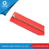 Form Metal Zipper mit Plating Golden Color