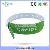 La RFID resistente al agua de la muñequera Muñequera de papel desechables