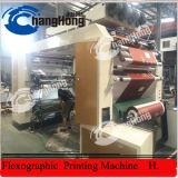 Machine d'impression flexographique de papier d'emballage de Brown de 4 couleurs