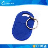 아BS 물자 방수 Lf/Hf RFID 근접 카드 13.56MHz 중요한 꼬리표 Keyfob