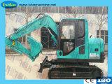 Machine de construction de 7,5 tonne de roues hydrauliques pour la vente d'excavateur