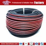 R2/2sn câble tressé en caoutchouc flexible d'huile hydraulique
