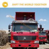 판매를 위한 Sinotruk HOWO 덤프 트럭 6X4 팁 주는 사람 트럭