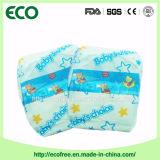 Une couche-culotte 100% remplaçable de bébé du Nigéria d'absorptivité élevée de coton de prix bas de pente