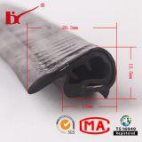 PVC en caoutchouc Noir Coupe en forme de U
