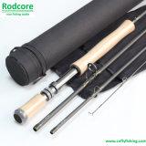 Mouche Rod rapide à haut carbone primaire de l'action Pr908-4