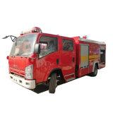 Châssis 190HP Isuzu Lutte contre les incendies pour l'aéroport camion à incendie du véhicule
