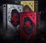 Cor preta Cartão poker clássico de Conjuntos de truques de magia de jogos de póquer