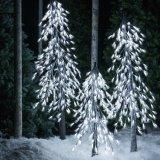 2018 de Nieuwe 100cm 180L Koude Witte LEIDENE van de Boom Lichten van Kerstmis