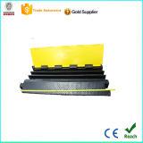 Instalación firmemente protector de goma del cable de 3 canales con CE