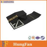 Papel pila de discos plano plegable el rectángulo de empaquetado del sombrero plegable plegable