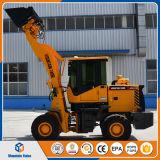 小型ローダー1.5トンのローダーの中国のフロント・エンドローダーZl15の車輪のローダーの価格