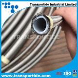Гибкий стальной шланг тефлона Braied R14 изогнутый PTFE