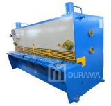 Lamiera di acciaio di Durama per il taglio di metalli, tagliatrice del piatto, macchina di taglio della ghigliottina idraulica