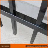 Modèles en acier de frontière de sécurité de jardin de fer travaillé