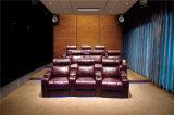 Le sofa à la maison de cinéma a placé avec le massage