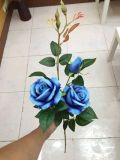La alta calidad de las flores artificiales de Rose-Gu JYS-00073