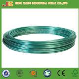 провод связи 1.60mm x 10m зеленый покрынный PVC, пластичный Coated провод сада