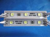 Samsung는 광고를 위한 5050 3chips LED 모듈을 접착제로 붙인다