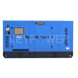 Type silencieux groupe électrogène de couleur bleue diesel