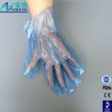Poly gants remplaçables transparents protecteurs pour la remise de nourriture