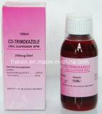 Suspensão oral da nistatina, suspensão oral de Mebendazole/suspensão suspensão/Co-Trimoxazole oral oral de Metronidazole