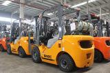 Triplex рангоут грузоподъемники LPG газа 2 тонн с двигателем японии Nissan