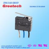 CQC, le cUL, l'UL, ENEC a reconnu le mini commutateur micro scellé 3A 125/250VAC 30VDC