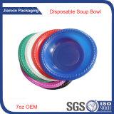 Bandeja de chapa plástica descartável colorida